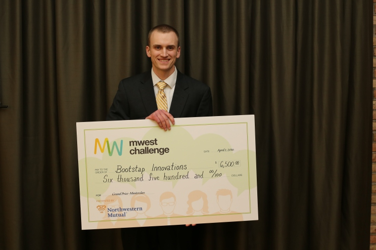 MWest Challenge 2016 winner Preston Smith